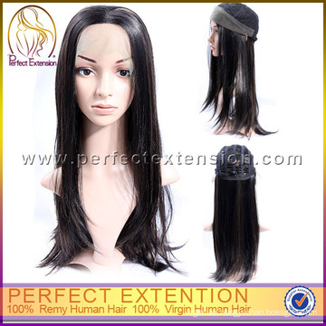 For African Americans 100% Cuticle Custom Hair Fashion Silk Top Full Lace Wig