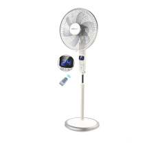 6 Blades Electric Stand Fan with LED Display