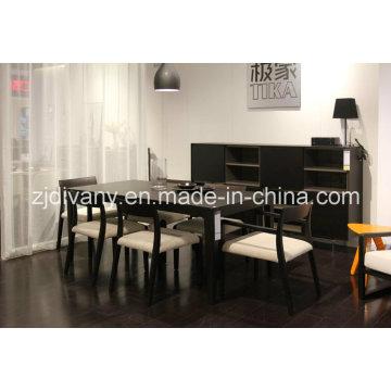 Armoire de placards de rangement en bois salon de Style européen (SM-D43)