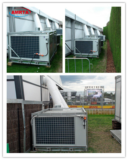 Tent Air Conditioner Installation