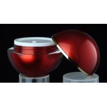 Jy216 50g раунд косметические Jar с любым цветом
