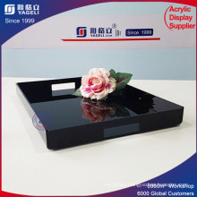 Professional Design Customized Blank Acrylic Tray with Handles