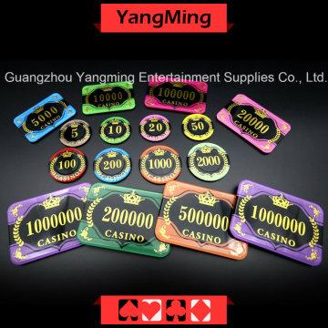 Чип для защиты от подделки Crystal Poker (YM-CP30-31)