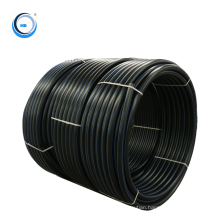 china high quality resilient black hdpe pipe for drinking water in city