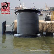 Guardabarros de goma súper celular de tamaño personalizado para proteger el puerto