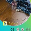 Commerciale 12,3 mm HDF AC3 Crystal noyer V rainurés plancher laminé
