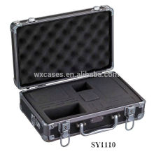 strong aluminum equipment case with custom foam insert wholesale
