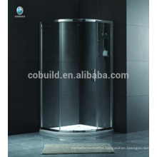 K-551 Europe and Africa simple small free standing glass shower enclosure room