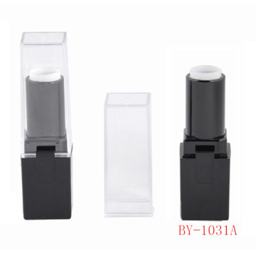 Classical Square Black Lipstick Tube