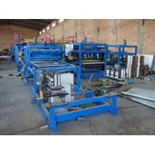 Ligne de production de panneaux sandwich EPS pour tuiles en acier