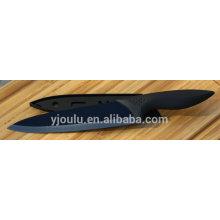 plastic injection handle black mirror ceramic chef knife