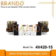 4V420-15 Pneumatic Electromagnetic Solenoid Valve