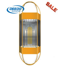 Full View Observation Residential Panoramic Glass Elevator