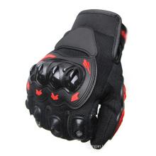 Mountain Bike Motocross Riding Gloves Cycling PU Leather Motorcycle Gloves Anti Slip