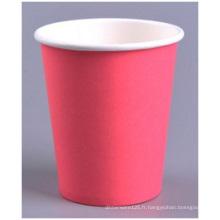 Épaississement 7oz tasse simple, 200 tasses de papier de publicité de Ml