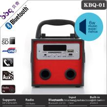 Portable sound system hifi bluetooth speaker