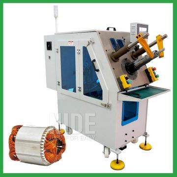 Auto stator coil insertion machine