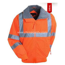 Lined Nylon Safety Jacket