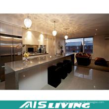 Armoires de cuisine professionnelle Fabricant d'exportation de meubles (AIS-K196)