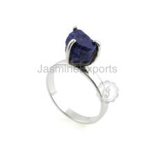 Proveedor al por mayor para la joyería de plata de la piedra preciosa de Lapis en el mejor precio