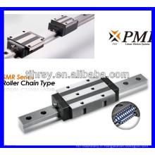 Ball Type de chaîne SMR Series PMI Rails à glissement linéaire et blocage