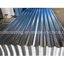 Chapa de aço galvanizada competitiva para materiais de construção