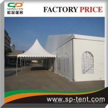 Langlebiges aktualisiertes kombiniertes Pagodenzelt mit Party-Festzelt für Hochzeiten