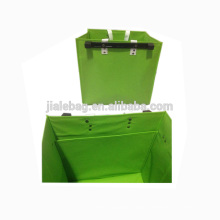 FACTORY SALE Non woven Storage Box with Plastic hanging