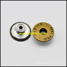 Basic Metal Jeans Button for Trousers