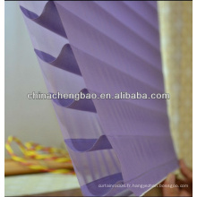 Nouveau modèle Shangrila rideaux à trois couches pour fenêtres