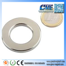 Magnetring-Magnet Industrielle Nickel-überzogene Magneten