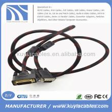 Câble mâle DVI Male to VGA de 5 pieds pour DVD LCD HDTV PC