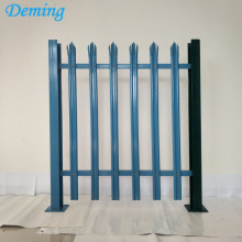 Factory PVC Coated Steel Palisade Fence te koop