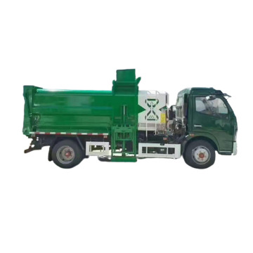 4x2 7tons kitchen waste collect garbage truck