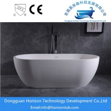 Comfortable solid surface tub