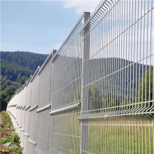 galvanized or pvc coated 3d wire mesh fence