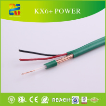 China Kx6+ Power Coaxial Cable Siamese Cable