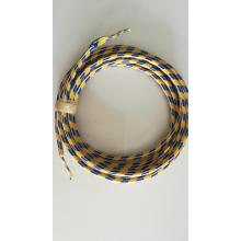 Gewebte Farbe Kabel Management Baumwolle Hülse