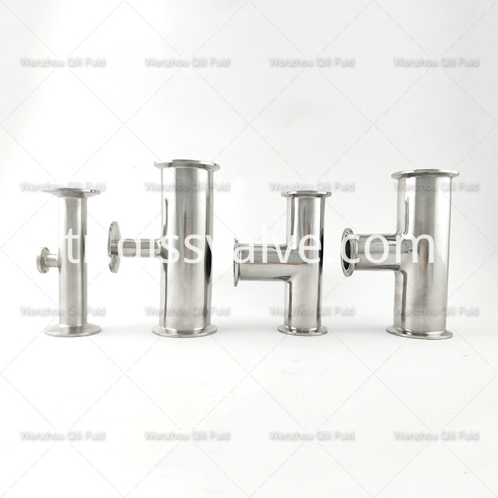 Sanitary pipe fittings Tee x34