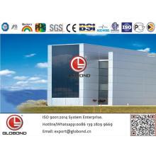 Globond plus panneau composite en aluminium PVDF (PF058)