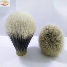 Factory Wholesale  Two Band Badger Hair Knot