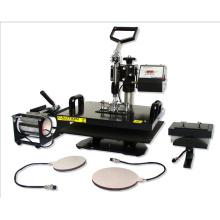 5 en 1 Combo chaleur transfert Machine pour T Shirts/tasses/plateaux