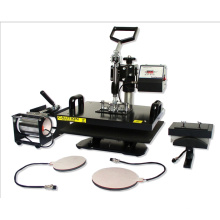 5 in 1 Combo Heat Transfer Machine for T Shirts/Cups/Trays