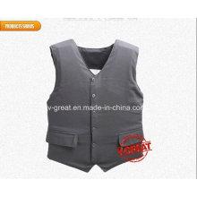 VIP Bulletproof Vest, Concealable, Confortável, Covert Nij Iiia