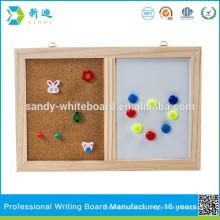 Kombination Kork Bord und White Board
