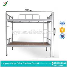 latest steel bed design double metal bunk bed