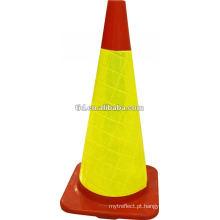 Cone refletivo de PVC
