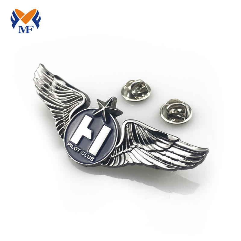 Wing Shape Lapel Pin