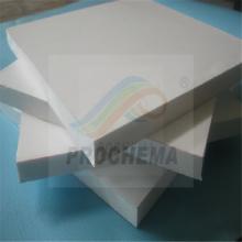 Folha de PTFE preenchida com fibra de vidro carbono cobre
