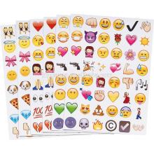 Новый стиль пользовательского формата А4 высечки наклейки для детей